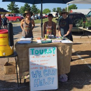 Work for CFM – Columbia Farmers Market