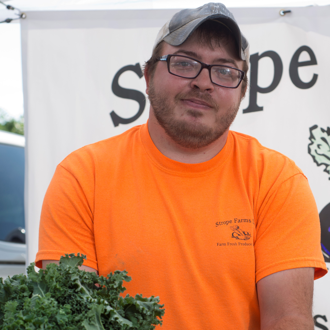 Strope Farms: Fourth-generation farmer brings fruit, flowers, and vegetables to market